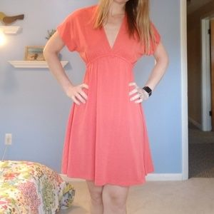 Small Mossimo coral color swimsuit coverup
